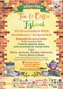 Tea& Coffee Festival 2016 intre 24-30 octombrie, la Bucuresti