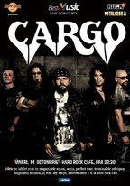 CONCERT: CARGO in concert la Hard Rock Cafe