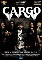 CONCERT: CARGO in concert la Hard Rock Cafe