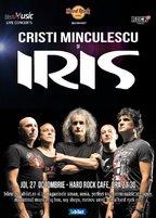 CONCERT: Cristi Minculescu si IRIS la Hard Rock Cafe