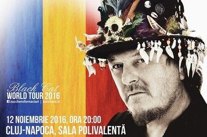 CONCURS! Castiga doua invitatii duble la concertul Zucchero de la Bucuresti!