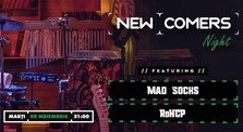 CONCERT: News comers night - Mad Socks & RoHCP live @ True Club