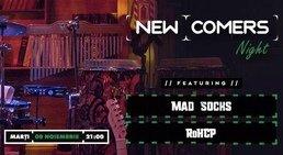 CONCERT: News comers night - Mad Socks & RoHCP live @ True Club