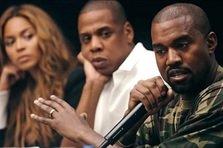 Kanye West ii ataca pe Beyonce si Jay Z