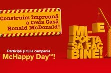 (P) De McHappy Day prietenii McDonald's sprijina Fundatia Ronald McDonald