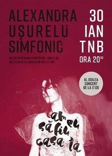 CONCERT: Dublu concert pentru Alexandra Usurelu la TNB