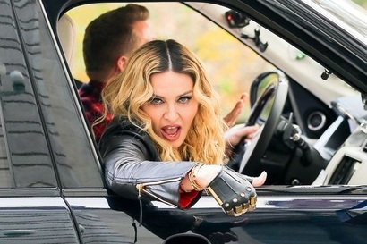 Madonna face twerking la Carpool Karaoke (video)