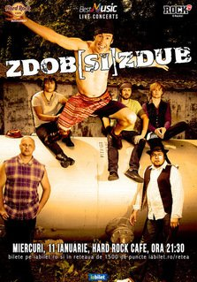 CONCERT: Zdob si Zdub in concert la Hard Rock Cafe
