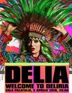 CONCERT: Delia - Welcome to Deliria la Sala Palatului