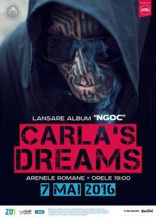 CONCERT: Carla's Dreams lanseaza albumul NGOC la Arenele Romane