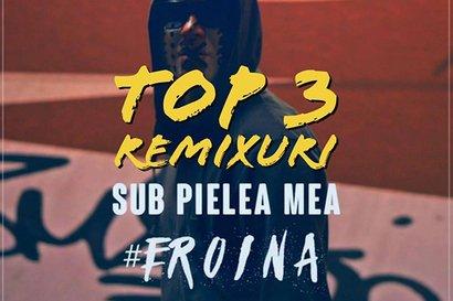 Trei remixuri tari dupa Carla's Dreams - Sub pielea mea (audio)