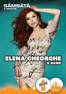 CONCERT: Elena Gheorghe & Band @ Beraria H