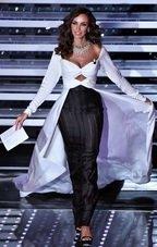 Madalina Ghenea straluceste pe scena de la Sanremo 2016