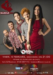 CONCERT: Trupa Marfar te invita la un show live @ Music Club