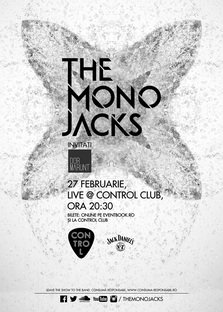 CONCERT: THE MONO JACKS revin in Control Club