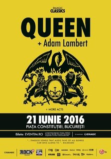 Queen si Adam Lambert, pentru prima data in Romania!