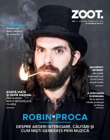 S-a lansat revista ZOOT, publicatia lunara cu cel mai mare tiraj din segmentul lifestyle & moda din Romania