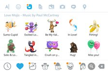 Paul McCartney inregisteaza sunete pentru emoji-uri de Valentine's Day (video)