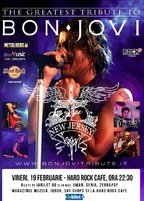 "CONCERT: Best Bon Jovi Tribute cu ""New Jersey"" @ Hard Rock Cafe"