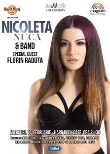 CONCERT: Florin Raduta canta cu Nicoleta Nuca la Hard Rock Cafe