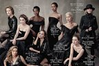 Actritele momentului, pe coperta revistei Vanity Fair dedicata Hollywood-ului