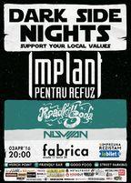 CONCERT: Implant Pentru Refuz @ Club Fabrica