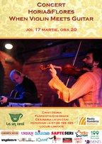 CONCERT: When Violin meets Guitar @ La Un Ceai