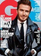David Beckham a bifat prima sa coperta GQ SUA