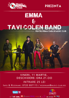 CONCERT: Tavi Colen Band & Emma, in premiera @ Music Club