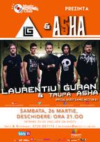 CONCERT: Laurentiu Guran & ASHA @ Music Club