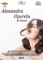 CONCERT: Alexandra Usurelu & Band canta @ Hard Rock Cafe