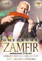 CONCERT: Gheorghe Zamfir sarbatoreste 75 de ani @ Hard Rock Cafe