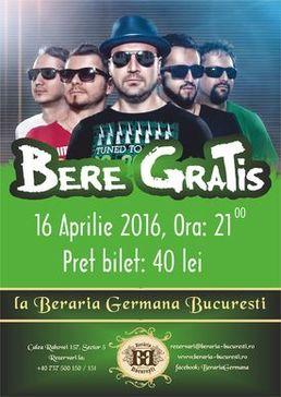 CONCERT: Bere Gratis @ Beraria Germana Bragadiru