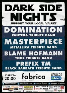 CONCERT: Pantera, Metallica, Tool & Black Sabbath Tribute Bands @ Club Fabrica