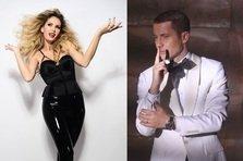 Andreea Banica feat. Adrian Sina - Flori de busuioc (graphic video)