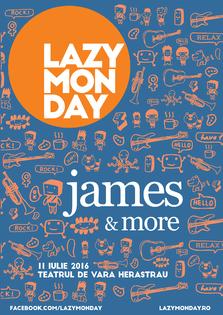 CONCERT: James, in premiera in Romania, in cadrul Lazy Monday
