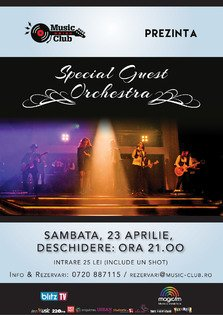 CONCERT: Special Guest Orchestra live la Music Club