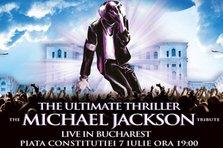 Show-ul lui Michael Jackson revine la Bucuresti! Cat costa biletele?