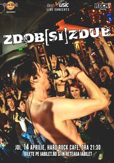 CONCERT: Zdob si Zdub in concert extraordinar @ Hard Rock Cafe