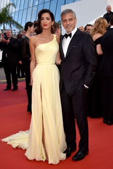 Amal si George Clooney, un cuplu de vis la Cannes