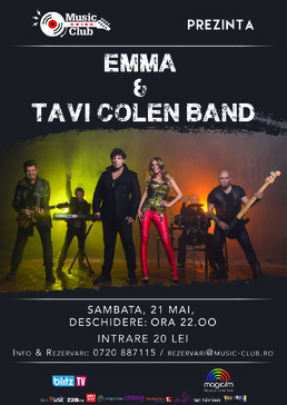 CONCERT: Summer closing party cu Tavi Colen Band & Emma