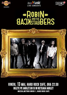 CONCERT: Robin and the Backstabbers @ Hard Rock Cafe