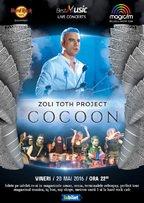 EVENT: Zoli TOTH Project prezinta show-ul #COCOON in premiera la Hard Rock Cafe