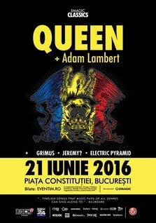 Program si reguli de acces pentru concertul Queen + Adam Lambert