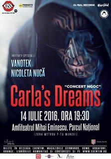 CONCERT: Fenomenul Carla's Dreams continua @ Amfiteatrul Mihai Eminescu