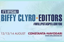 Biffy Clyro si Editors, headlineri la Spellground Festival 2016
