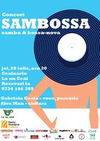 CONCERT: Sambossa (bossa nova & samba) @ Ceainaria La un Ceai
