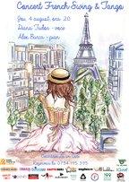 CONCERT: French Swing, Jazz & Tango la Ceainaria La un Ceai