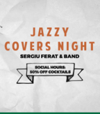 CONCERT: Jazzy Live Covers w Sergiu Ferat @ True Club