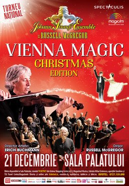 CONCERT: Johann Strauss Ensemble prezinta concertul Vienna Magic - Christmas Edition